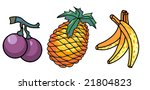 colored fruits designs | Shutterstock . vector #21804823