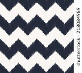 seamless chevron pattern | Shutterstock .eps vector #218084989