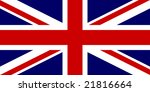 flag of united kingdom ... | Shutterstock . vector #21816664