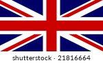 flag of united kingdom ... | Shutterstock . vector #21816664
