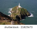 Looking Down At South Stack...