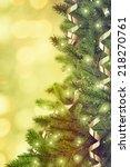 christmas tree | Shutterstock . vector #218270761