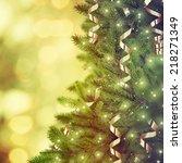 christmas tree | Shutterstock . vector #218271349