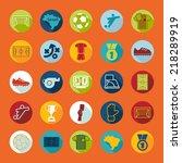 football  soccer infographic | Shutterstock .eps vector #218289919
