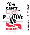 set of unusual inspirational... | Shutterstock .eps vector #218297449