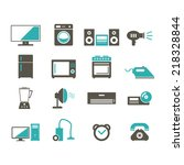 home device icon | Shutterstock .eps vector #218328844