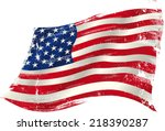 American Grunge Flag In The Win....
