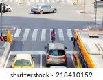 milan  italy   may  27  juggler ... | Shutterstock . vector #218410159