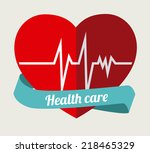medical design over white... | Shutterstock .eps vector #218465329