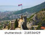 Old Fort In Split  Croatia  ...