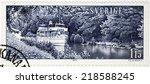 sweden   circa 1979  a stamp... | Shutterstock . vector #218588245