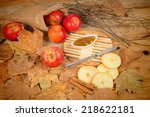 Apples And Marmalade In An...
