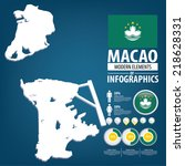 macau. macao special... | Shutterstock .eps vector #218628331