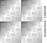 Abstract Pattern Metallic Floor