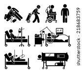 life support equipments stick...   Shutterstock . vector #218683759