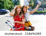 Outdoor Portraits Of Two Prett...