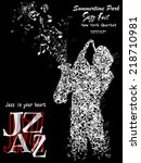 Jazz Poster With A...