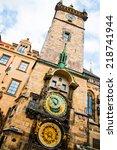 Astronomical Clock Prague Czech ...