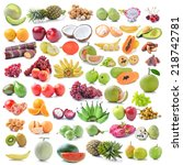 fruits | Shutterstock . vector #218742781