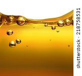 oil background with air bubbles | Shutterstock . vector #218758531