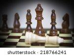 chess   Shutterstock . vector #218766241