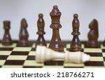 chess   Shutterstock . vector #218766271