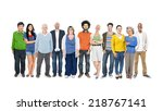 Group Of Multiethnic Diverse...