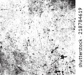 distressed overlay texture for... | Shutterstock .eps vector #218784619