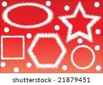 christmas frames  rasterized... | Shutterstock . vector #21879451