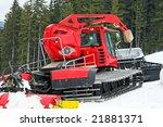 Big Snow Groomer Equipment In...