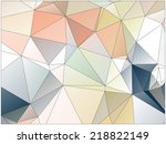 abstract geometric background... | Shutterstock .eps vector #218822149