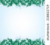 the illustration of blue... | Shutterstock .eps vector #218822719