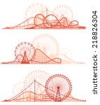 Set Vector Horizontal Lines Of...