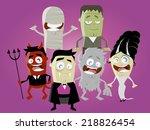 Funny Halloween Characters