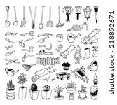 Gardening Tools  Illustration...