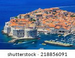 The Walled City Of Dubrovnik ...