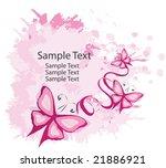 butterfly background | Shutterstock .eps vector #21886921
