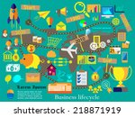 vector illustration of a... | Shutterstock .eps vector #218871919