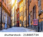 Gamla Stan The Old Town In...