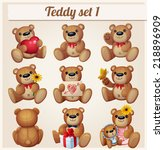 Teddy Bears Set. Part 1....