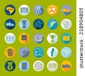 football  soccer infographic | Shutterstock . vector #218904805