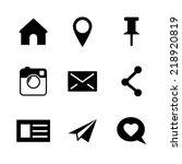 Set Of Vector Social Network...