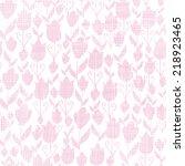 pink textile tulips texture...   Shutterstock .eps vector #218923465