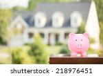 real estate sale  home savings  ... | Shutterstock . vector #218976451
