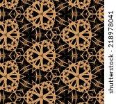 vintage pattern | Shutterstock . vector #218978041
