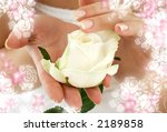 beautiful woman hands with... | Shutterstock . vector #2189858