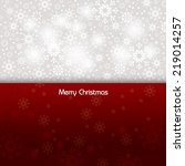 christmas background. eps10. | Shutterstock .eps vector #219014257