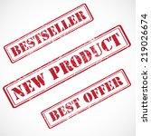 bestseller  new product  best... | Shutterstock . vector #219026674