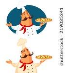 funny cartoon illustration of a ...   Shutterstock .eps vector #219035341