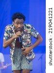 las vegas   sep 20  rapper... | Shutterstock . vector #219041221